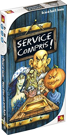 Asmodee - CM01 - Jeu d'ambiance  - Service Compris