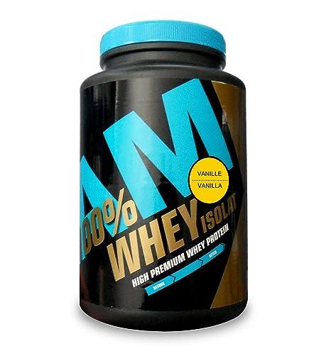 AM Sport High Premium WHEY Protein 700g Vanille - 100% Molkenprotein-Isolat