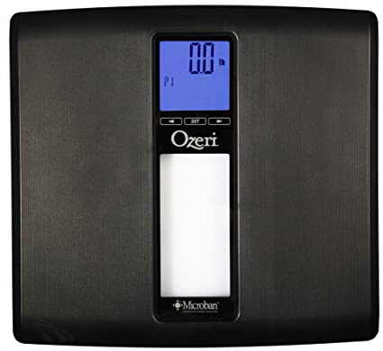 Ozeri WeightMaster II 440 lbs Digital Bath Scale with BMI and Weight Differential Detection