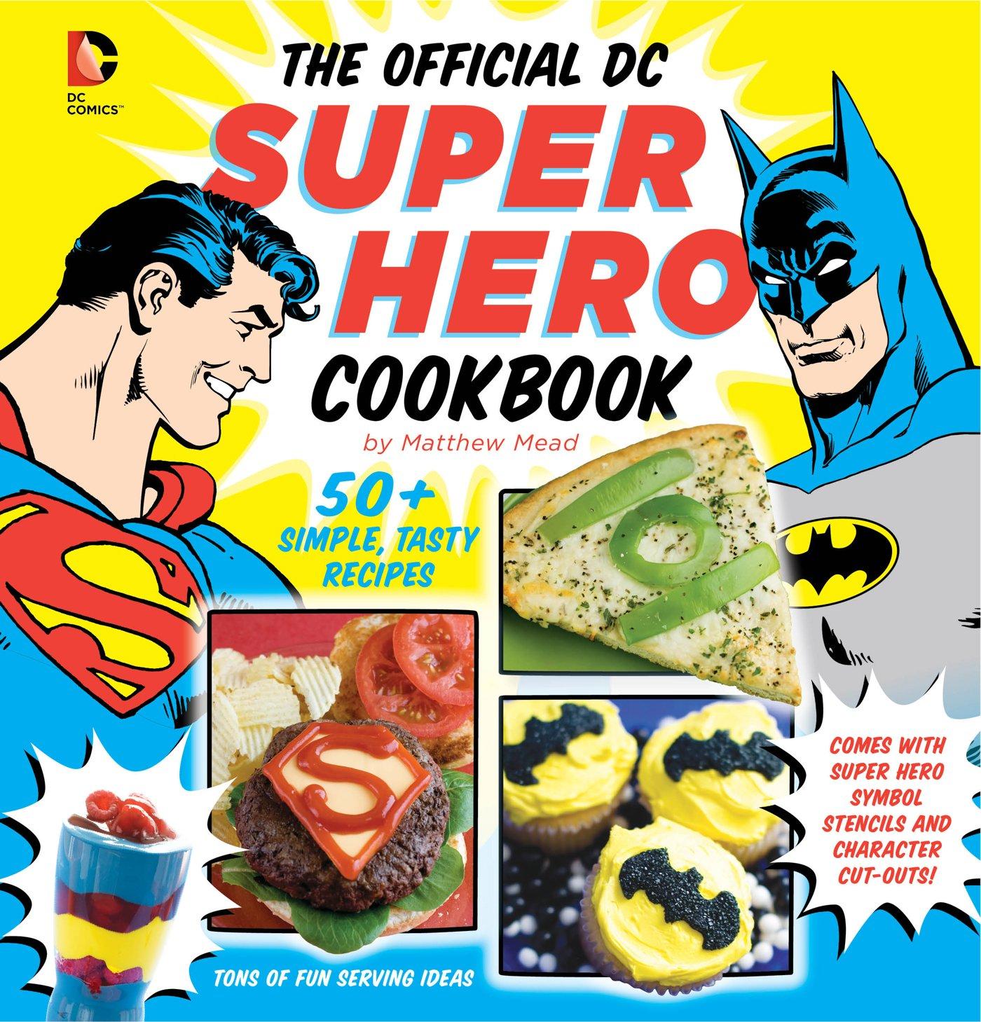 """""""DC Heroes Cookbook"""""""