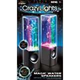 Cra-Z-Art Dancing Water Speakers (Colors May Vary) (Color: white)