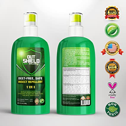 DEET Free natural travel gnat repellent