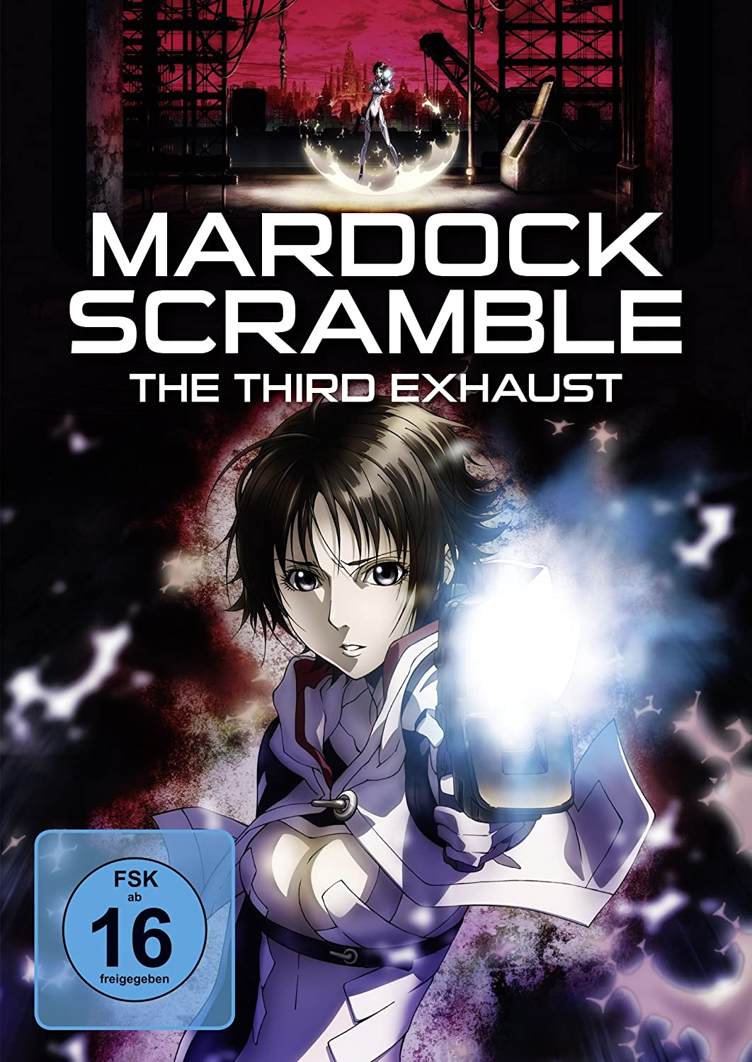 Mardock Scramble - The Third Exhaust, DVD