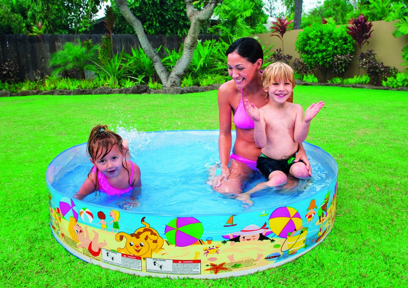 hard plastic kiddie swimming pool
