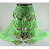 light-green Shawl Hip Dance