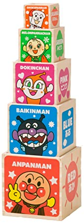 Box counting is has been made wooden Anpanman (japan import)