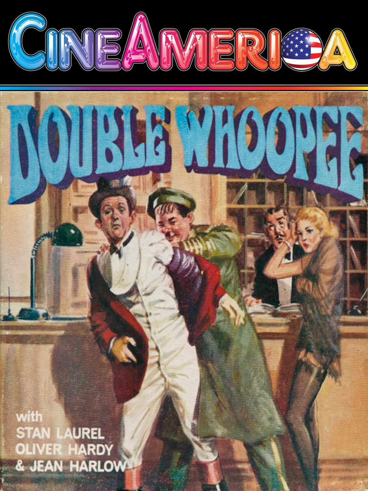 "Laurel and Hardy ""Double Whoopee"""