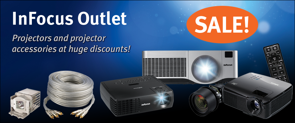 Visit the InFocus Outlet Store today!