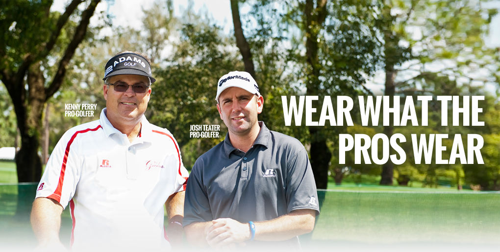 Wear what the pros wear!