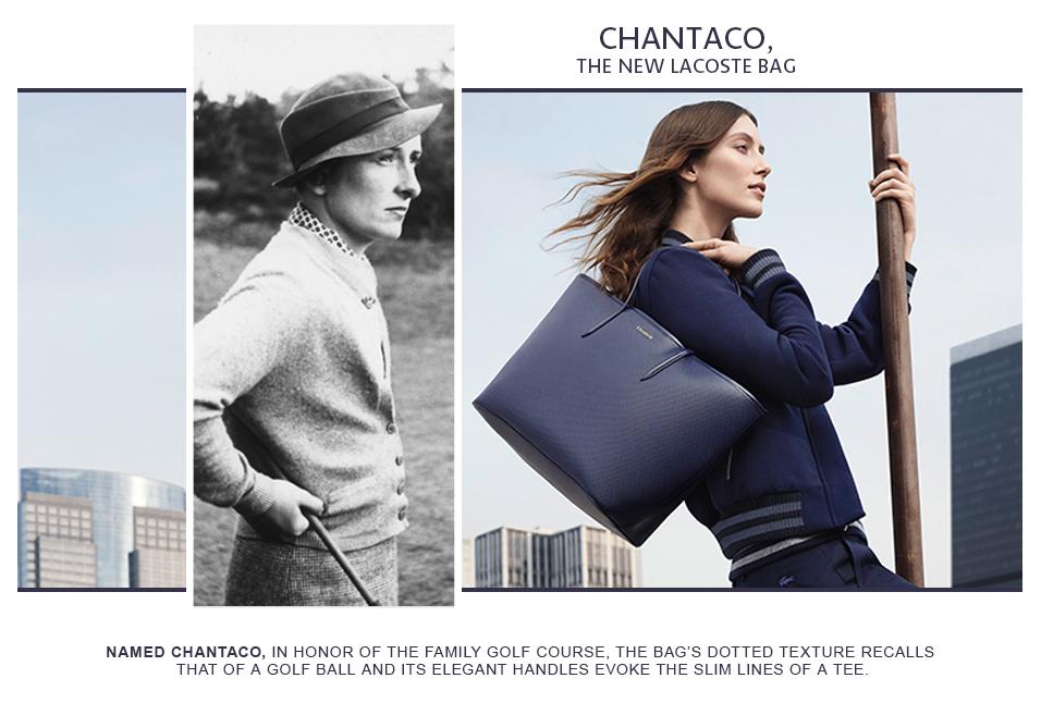 Shop Lacoste Chantaco Bag