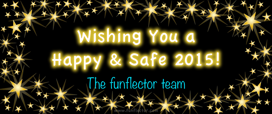 happy new year from the funflector team