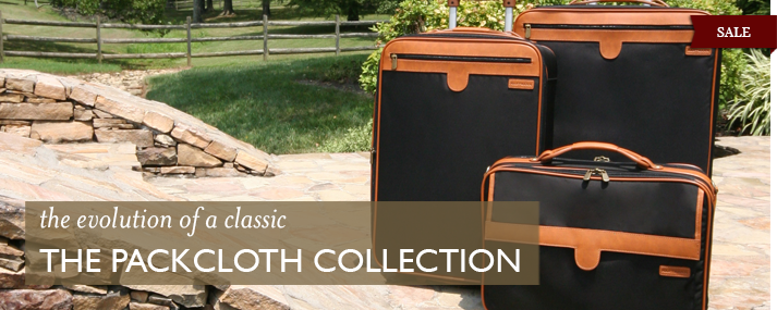 the evolution of a classic - The Packcloth Collection