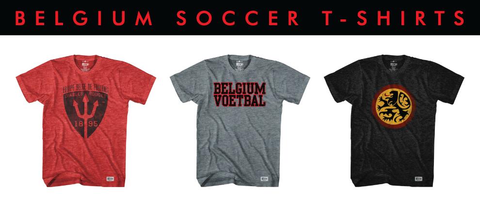 Belgium Soccer T-shirts