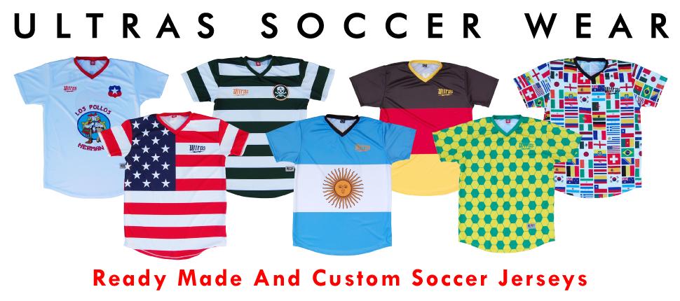 Custom Sublimated Soccer Jerseys