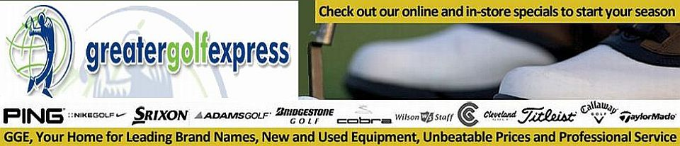 Shop now for golf clubs, balls, and apparel at Greater Golf Express