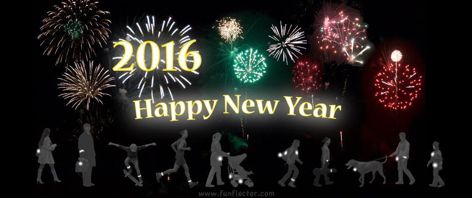 The funflector team wishes you a safe, peaceful, healthy & prosperous 2016!