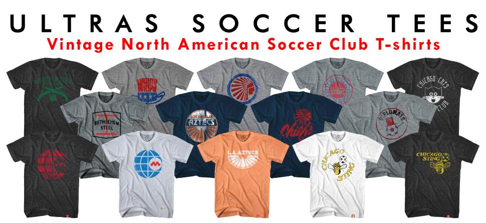 Vintage NASL Soccer T-shirts