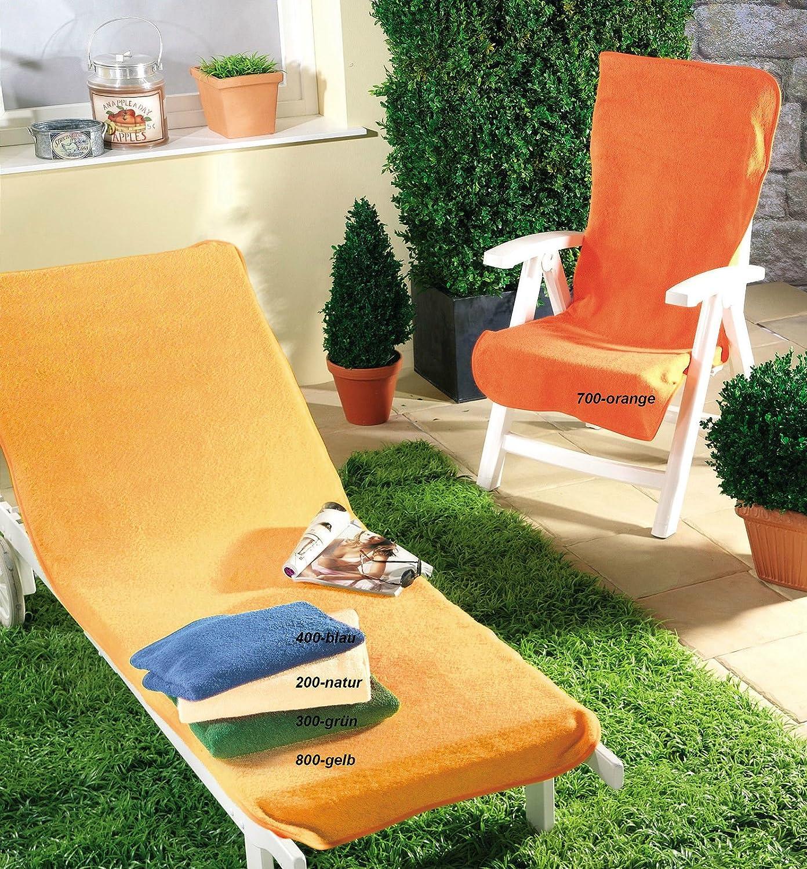 Dyckhoff Schonbezug für Gartenmöbel Liegenbezug 70 x 200 cm orange jetzt bestellen