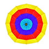 Pacific Play Tents Kids 12 Foot Kaleidochute Parachute for Indoor / Outdoor Fun