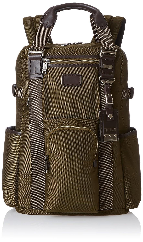 Tumi Alpha Bravo Lejeune Backpack Tote, Olive, One Size
