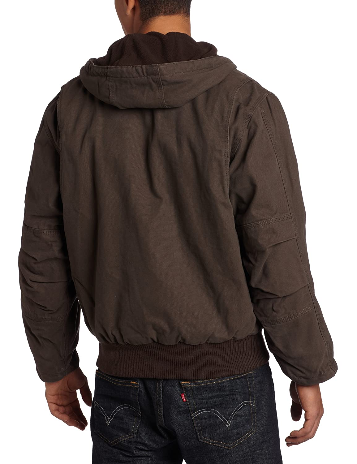 Key Industries Men's Premium Fleece Hooded Jacket