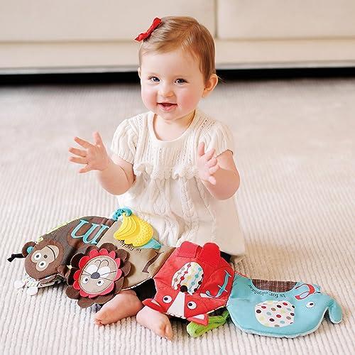 Skip Hop 婴儿趣味动物园主题活动布艺书