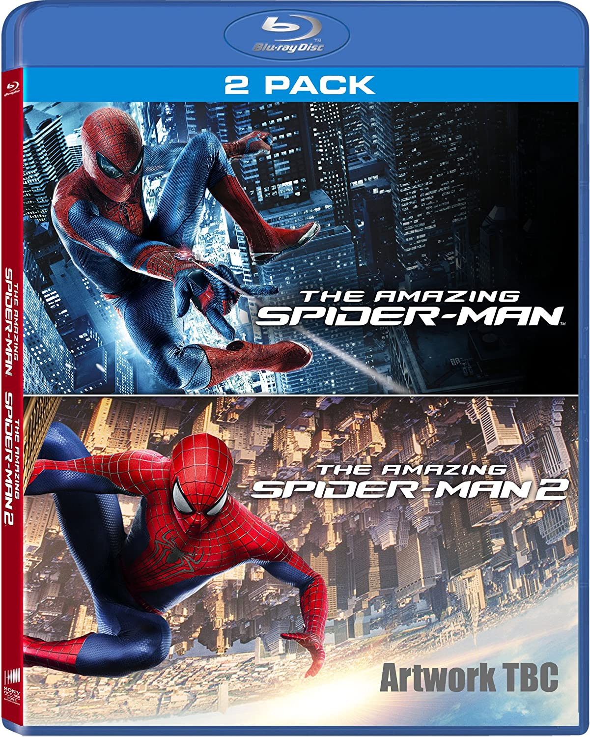 The amazing spider man 2 blu ray