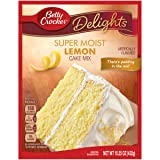 General Mills Betty Crocker Cake Mix, Lemon, 15.25 oz