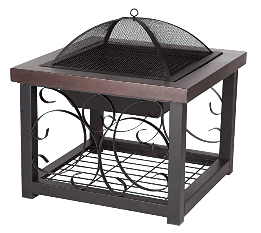 This Fire Pit Boasts A Detailed Design With Beautiful Cutouts That Would  Make It A Perfect Complement To Any Outdoor Living Space.