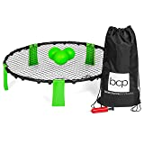 Best Choice Products Sports Volleyball Spike Toss Game Set For Beach, Outdoor Lawn, Tailgates