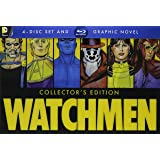 Watchmen Collector's Edition: Ultimate Cut + Graphic Novel [Blu-ray] (Color: color)