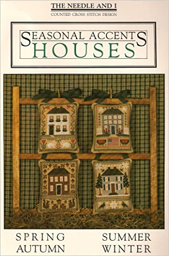 Seasonal Accents: Houses (Cross Stitch)