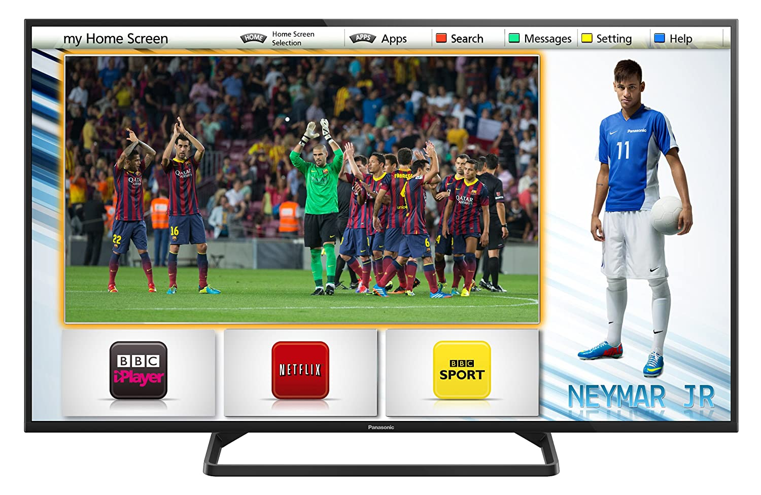 "Panasonic TX-39AS500B 39"" LED HDTV"