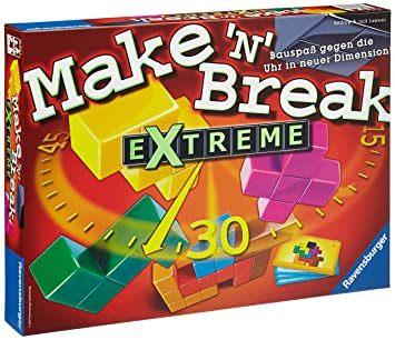 "Ravensburger - 26432 - Jeu d'habilité ""Make'n Break Extreme"""