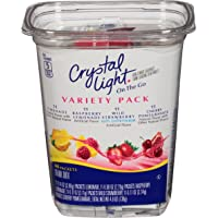 Crystal Light On The Go Drink Mix Packets 44-Count (Variety Pack)