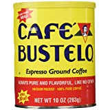 Cafe Bustelo Espresso Ground Coffee, 10 Ounce Can, Packaging May Vary (Color: brown, Tamaño: 10 oz)