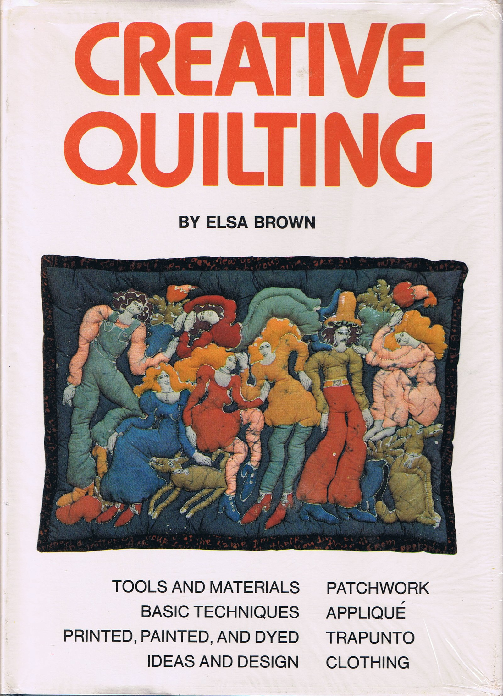 Creative quilting, Brown, Elsa