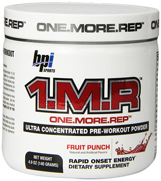 1.M.R pre workout review