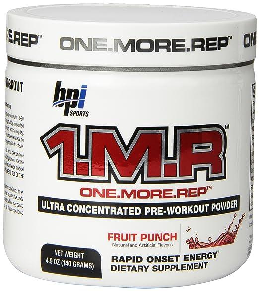 1.M.R pre workout review