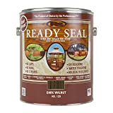Ready Seal 125 1-Gallon Can Dark Walnut Exterior Wood Stain and Sealer (Color: Dark Walnut, 1-Gallon)