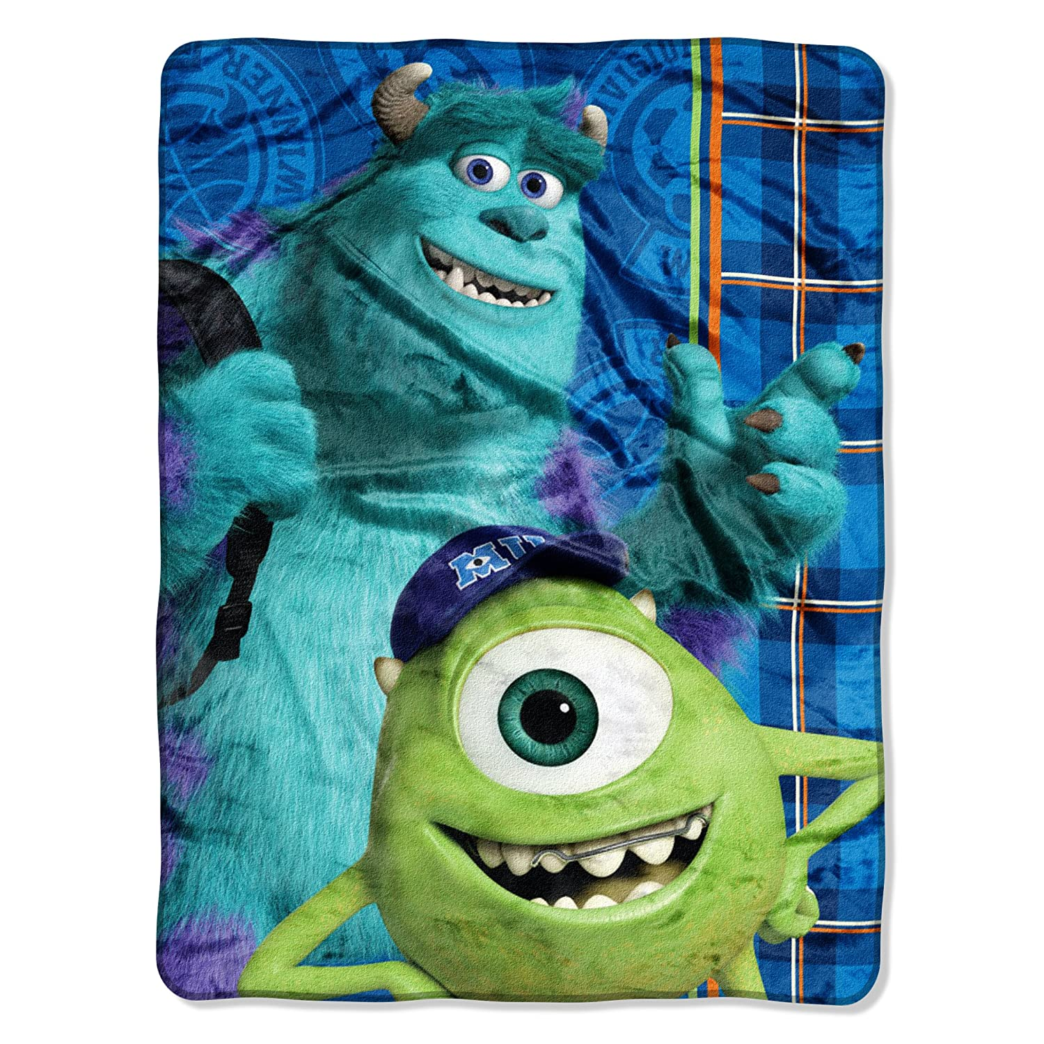 Disneyu0027s Monsters University, Greek Geeks Micro Raschel Blanket