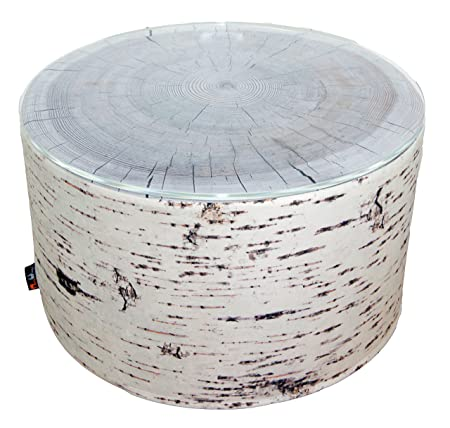 MeroWings 4260190317944 Birch Heavyweight Coffee Table / Side Table Diameter 60 CM x 35 CM