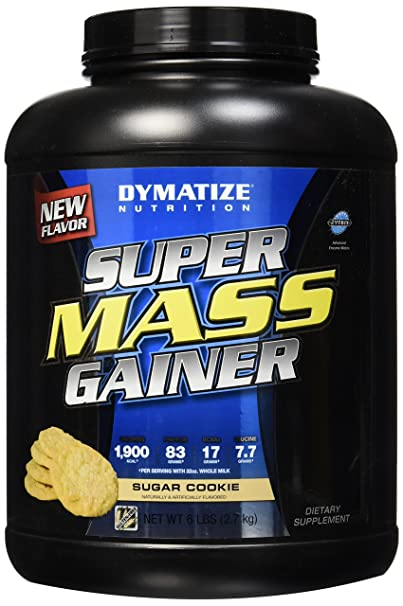 Dymatize Super Mass Gainer 6lbs Sugar Cookie