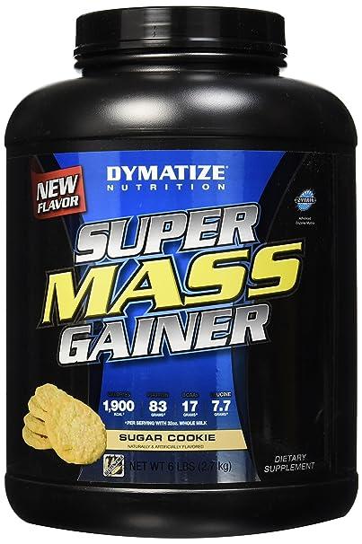 Dymatize Super Mass Gainer 6lbs Sugar Cookie