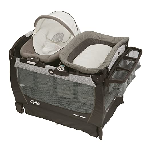 Best Pack and Play Reviews - Graco Pack 'n Play Playard Snuggle Suite LX, Abbington