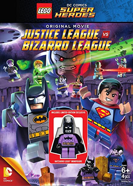 Lego DC Comics Super Heroes: Justice League vs. Bizarro League (2014) en Truefrench
