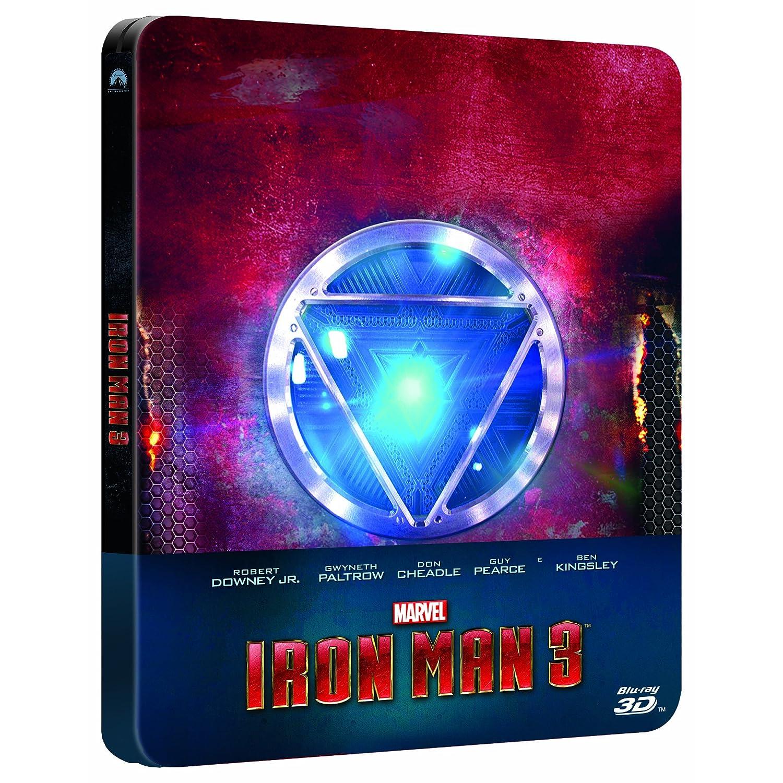 dvd store it 32 90 notes 2 discs 3d blu ray 2d blu rayIron Man 3 Blu Ray Steelbook