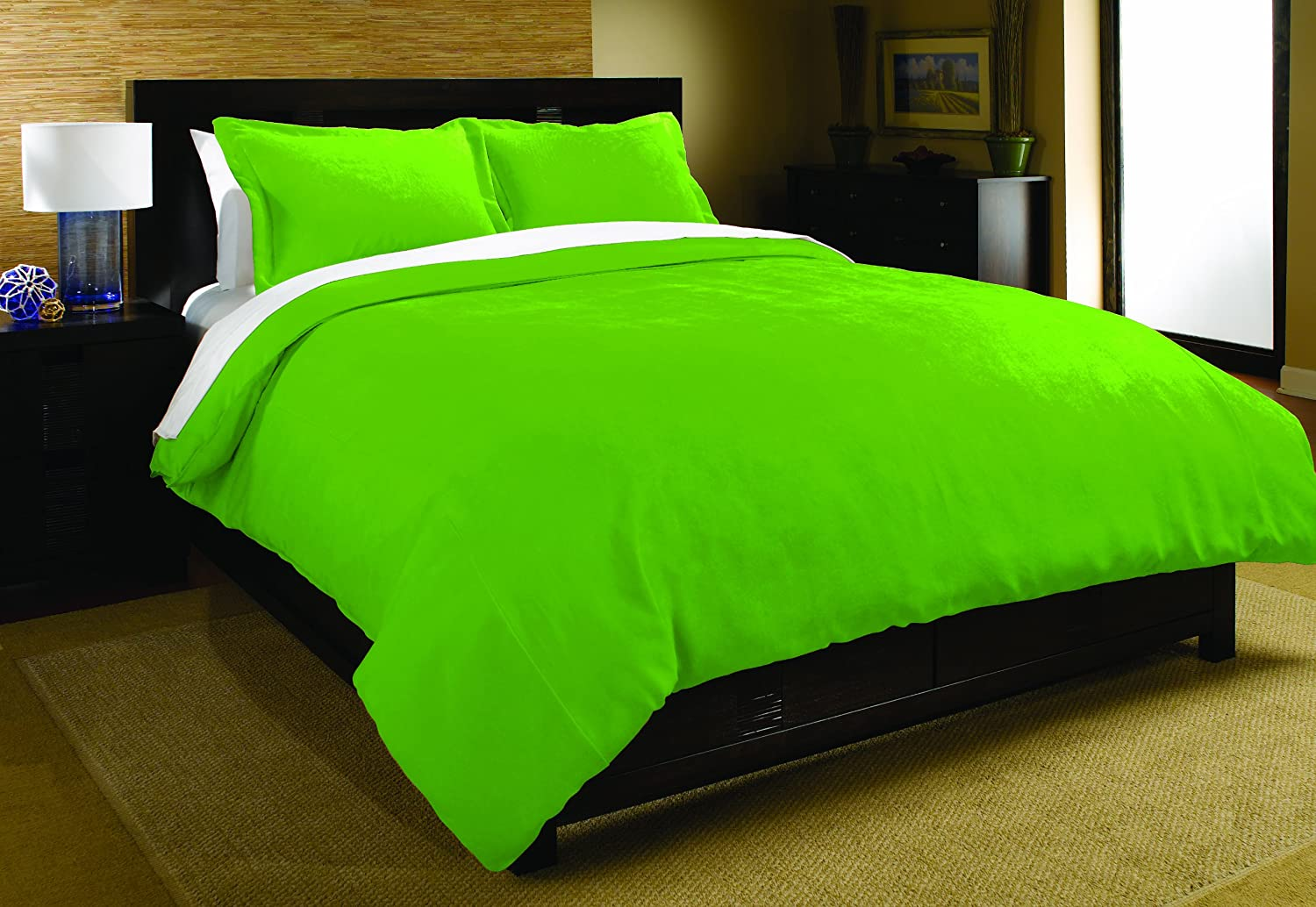 Neon Green Bed Sheets Queen