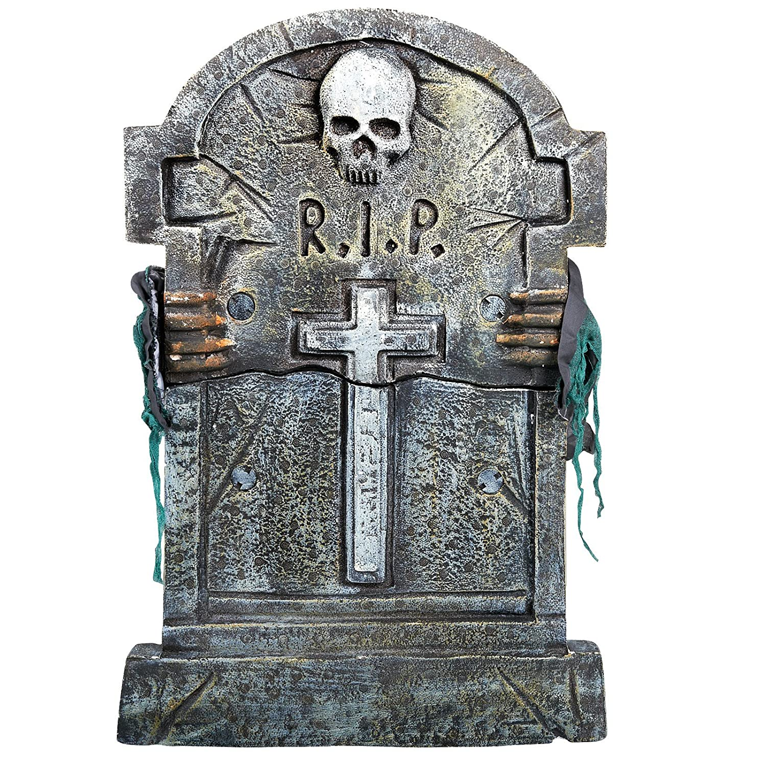 Scary Tombstone Sayings http://www.squidoo.com/spooky-animated-halloween-props