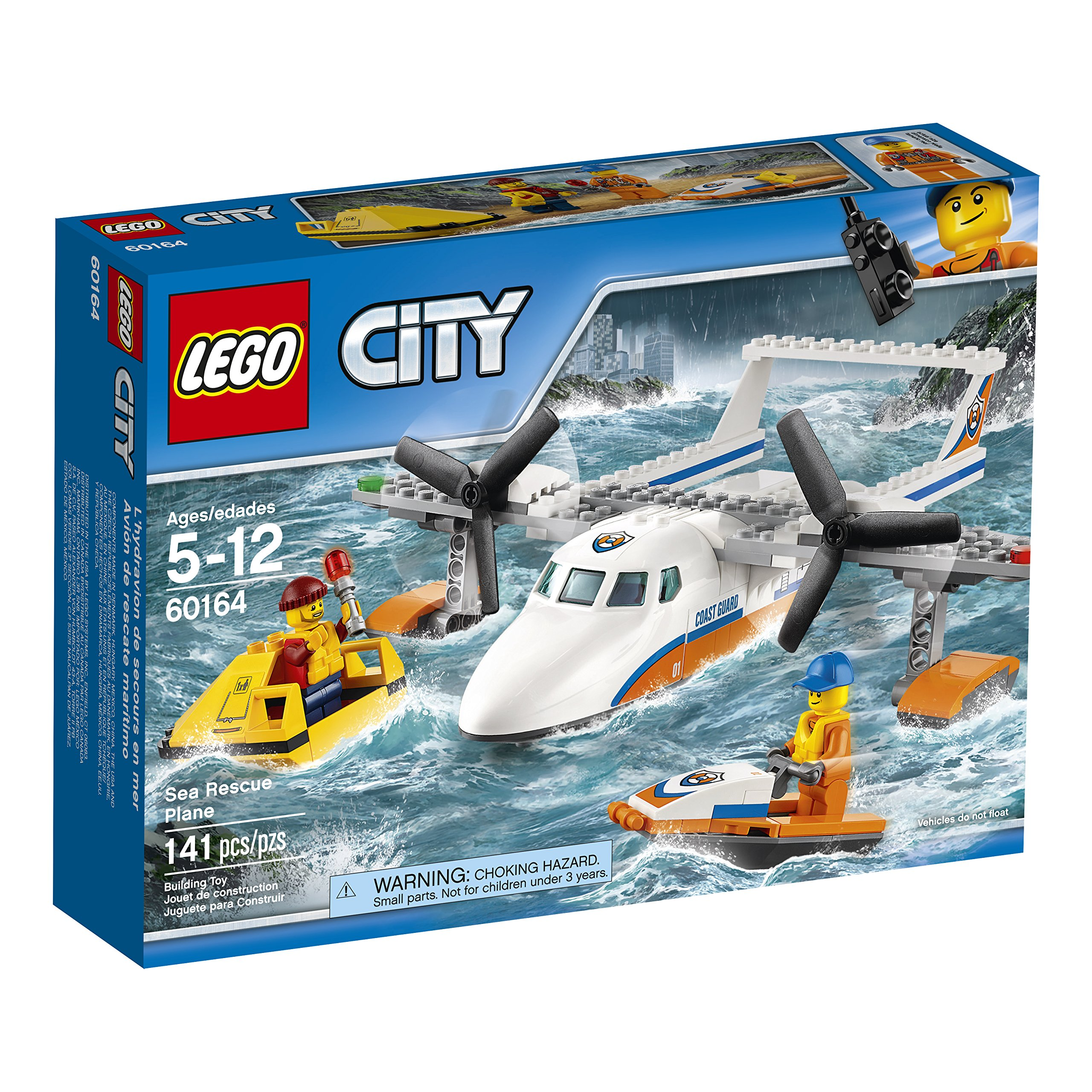 Lego City Rescue Plane